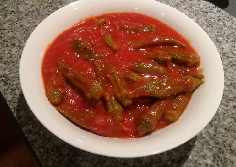 Simple Way to Make Favorite Egyptian/Lebanese Okra (Bamia) Vegan/Vegetarian