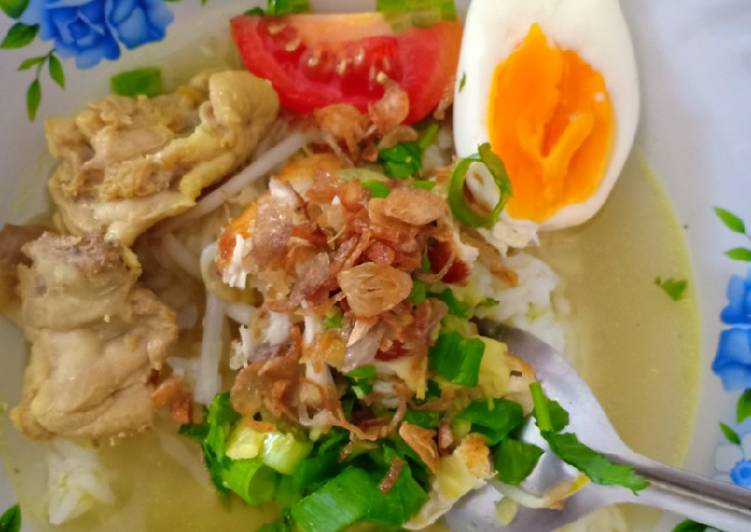 Resep Soto Ayam Bening Segar, Menggugah Selera