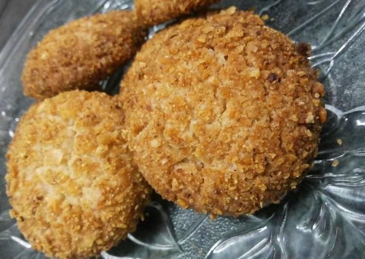 Atta Cornflakes Cookies