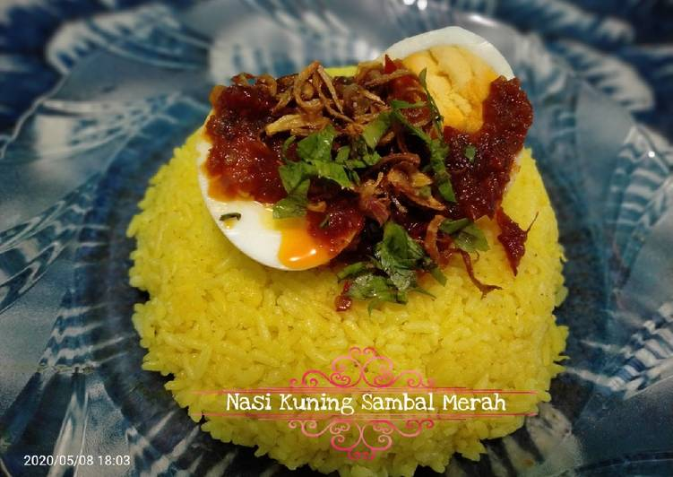 Rahasia Menyiapkan Nasi Kuning khas Banjarmasin Kekinian