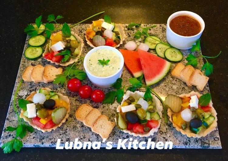 Panzanella Salad Tarts