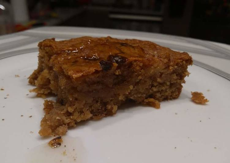 Recipe: Tasty Healthy, vegan, sugarfree, bannana peanut butter cake