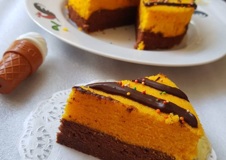 Brownies coklat jeruk