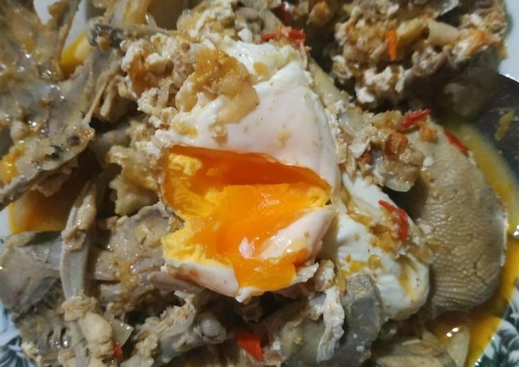 Seblak Tulangan Ayam dan Telur Itik