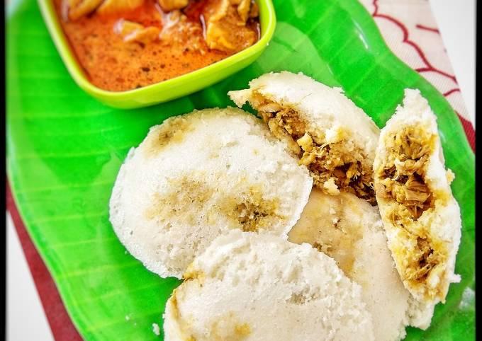 Chicken idli recipe - chicken stuffed idli - idli recipes