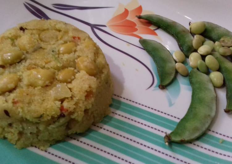 Step-by-Step Guide to Make Quick Awarekalu upma (butter beans)