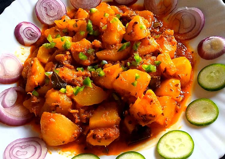 Recipe of Homemade Khatay aloo