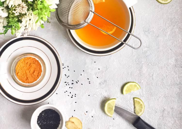 Immune boosting herbal tea.