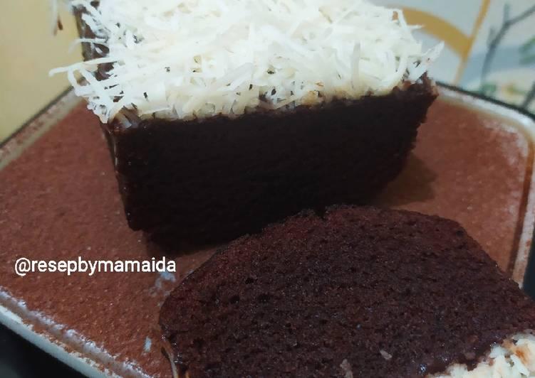Brownis Chocolatos Tanpa telur Tanpa Mixer Tanpa Oven