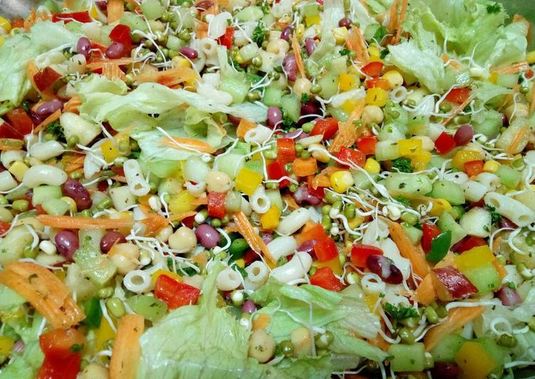 Absolutely Ultimate Dinner Easy Vegan Mix Healthy Salad