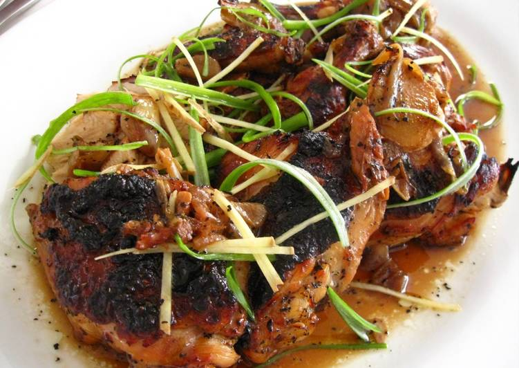 What are some Dinner Ideas Fall Tea & Soy Sauce Braised Chicken