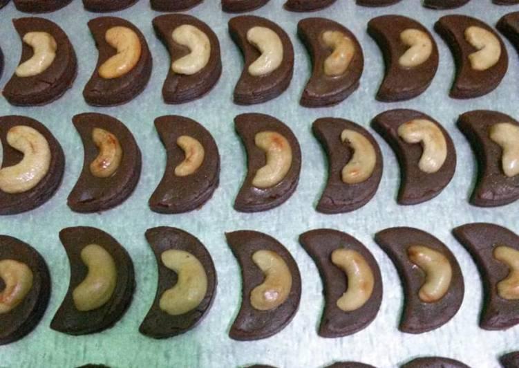 Choco Cashew Cookies
