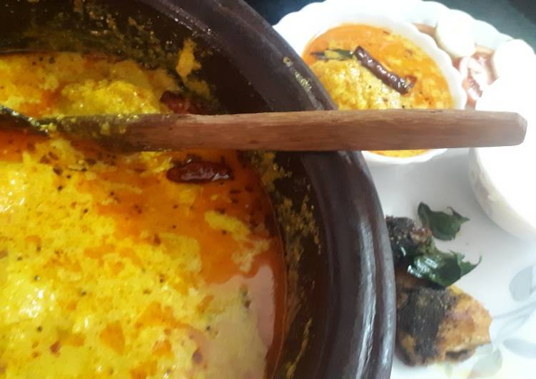 Step-by-Step Guide to Make Favorite Kerala style mango curry(Mambazha puliseerry)