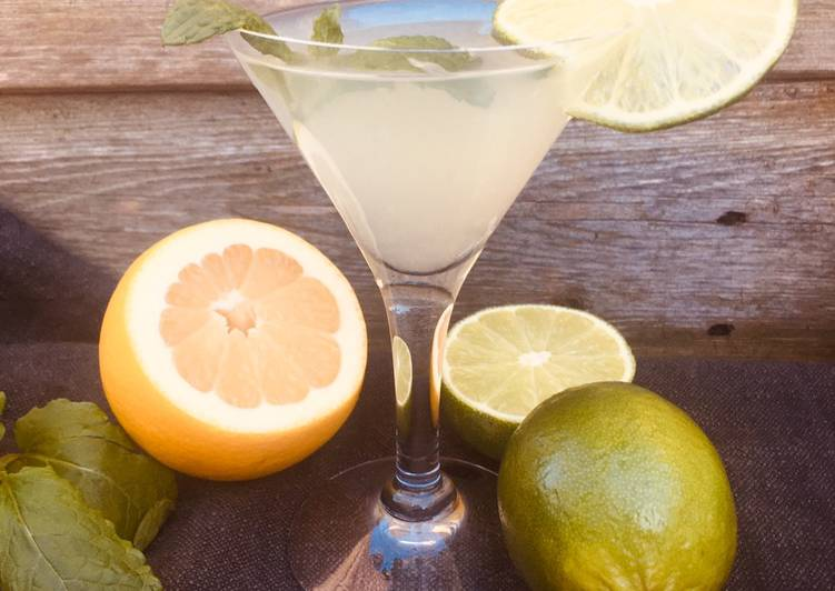 Lime and Mint Mojito 🌱 (Mock-jito Mocktail)