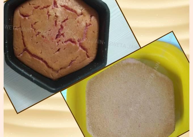Eggless Flavoured Sponge Cake Recipe(Jain Food)