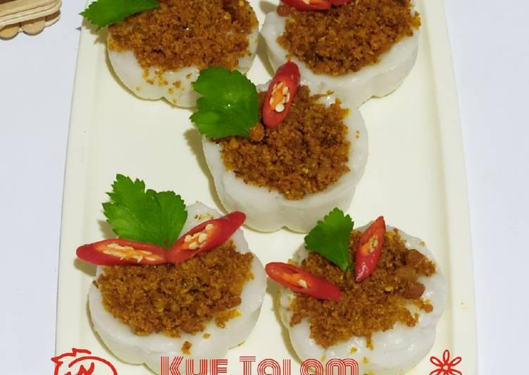Rahasia Membuat Kue Talam abon tempe pedas yang Enak Banget