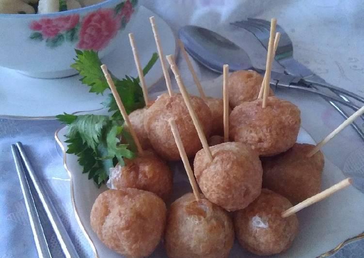Bakso Goreng with ayam