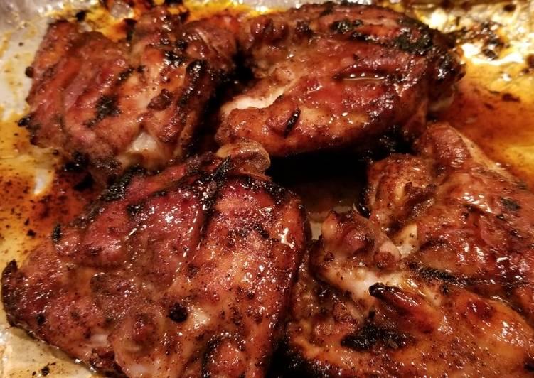 Sweet & Spicy Dijon Honey Chicken