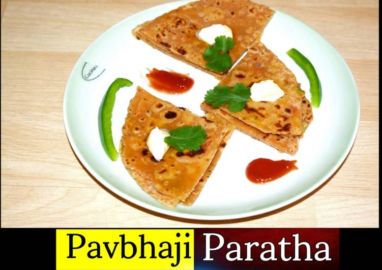 Step-by-Step Guide to Prepare Homemade Pav Bhaji Paratha