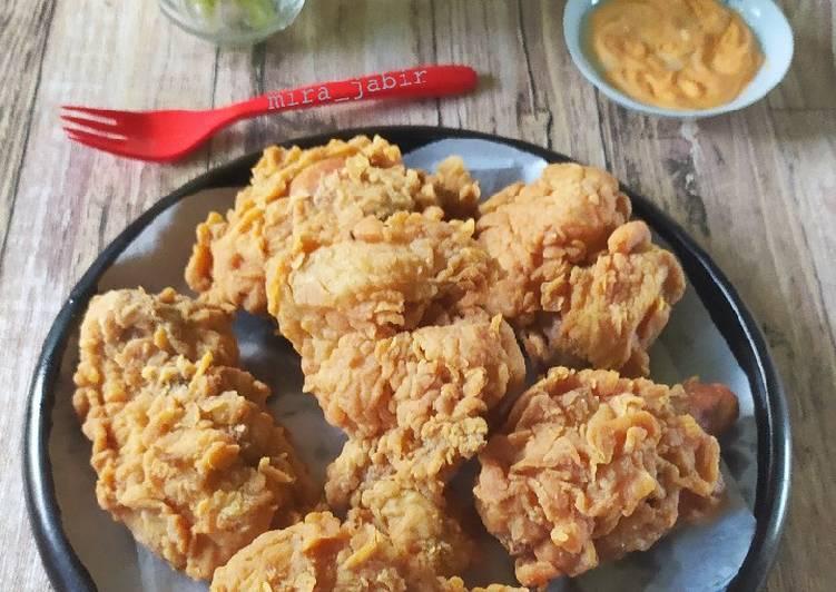 Ayam Kriting Renyah ala KFC #189