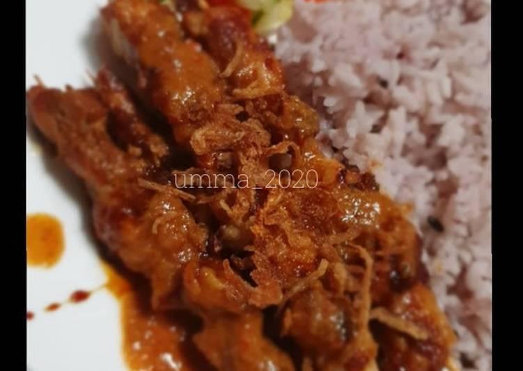 Sate Ayam saus kacang - cookandrecipe.com