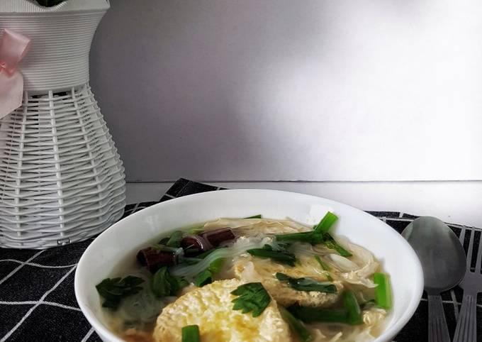 Sup Tauhu Telur