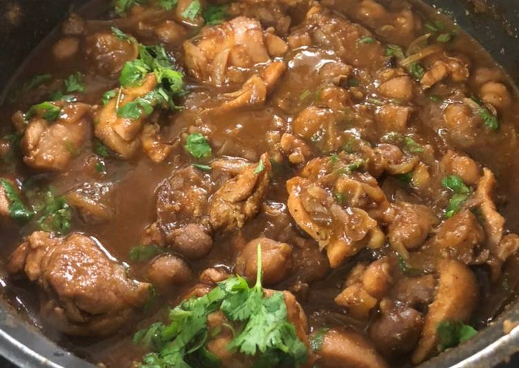 Amritsari Chole Chicken - Laurie G Edwards