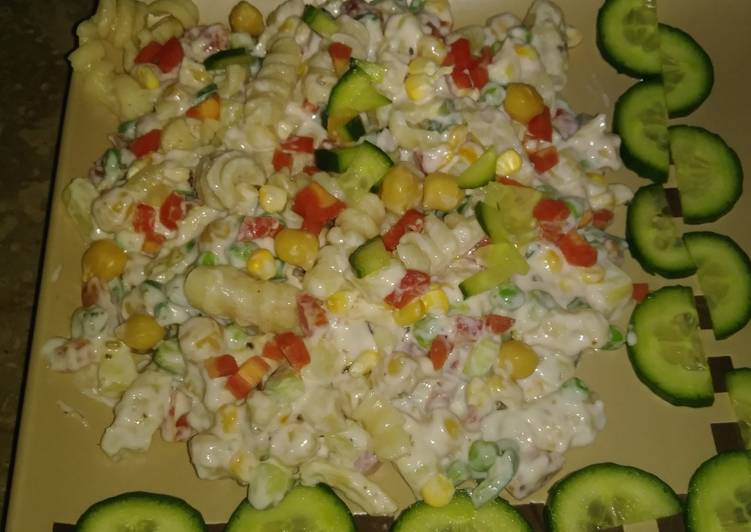 Recipe of Speedy Cold Pasta Salad