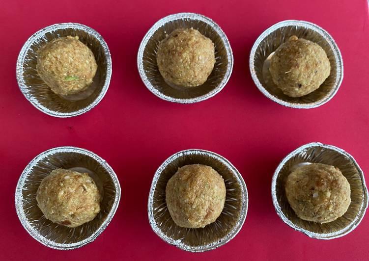 Simple Way to Prepare Award-winning Daria na ladoo (roasted chickpea ladoo)
