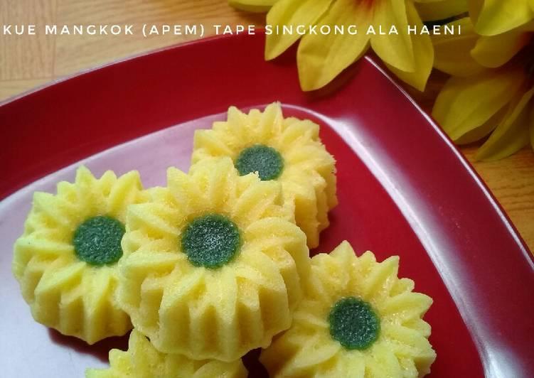 Resep Kue Mangkok Apem Tape Singkong Oleh Haeni Cookpad