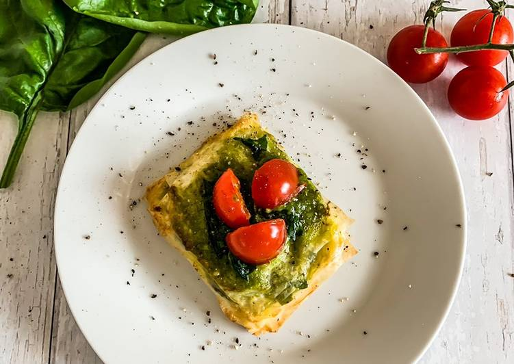 My Daughter love Spinach & Pesto Tartlets