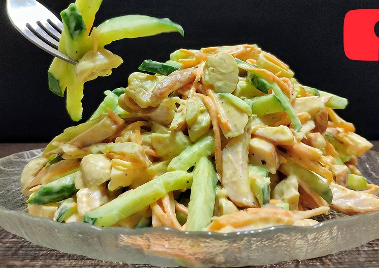 Обалденные салаты рецепты с фото