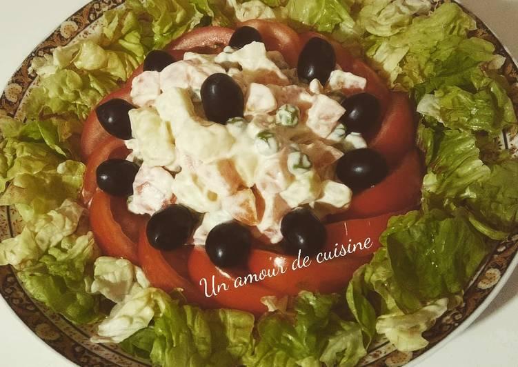 Recette: Macédoine de légumes