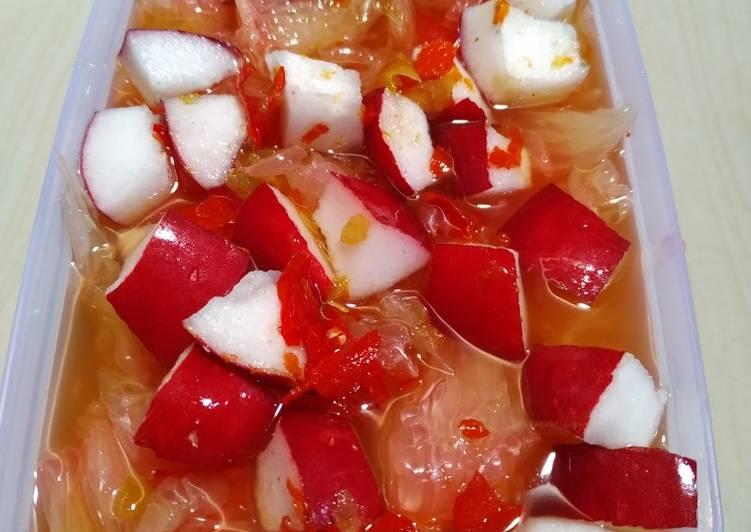Resep Asinan buah ala kadar gampang