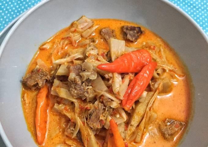 lodeh tewel daging - resepenakbgt.com