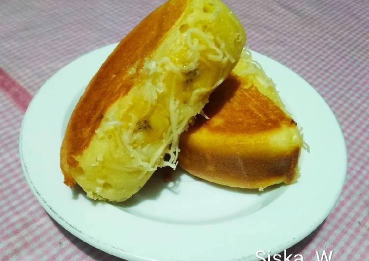 Pukis Isi Pisang Keju (new recipe) |anti kempes & anti lemes 😁
