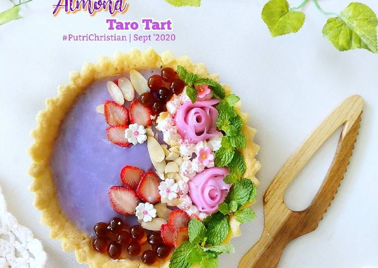 Resep Almond Taro Tart Oleh Putrichristian Cookpad