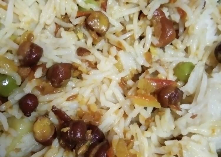 Steps to Make Favorite Peas Pulav