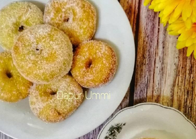 Cara Mudah Masak: Donut Pandan  2021