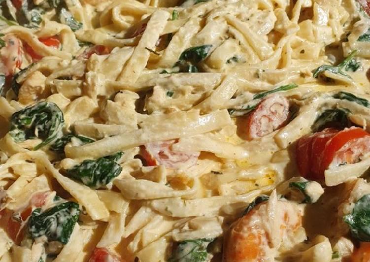 Recette Appétissante Pasta scampi e salmon alla VAPIANO 🍝🦐