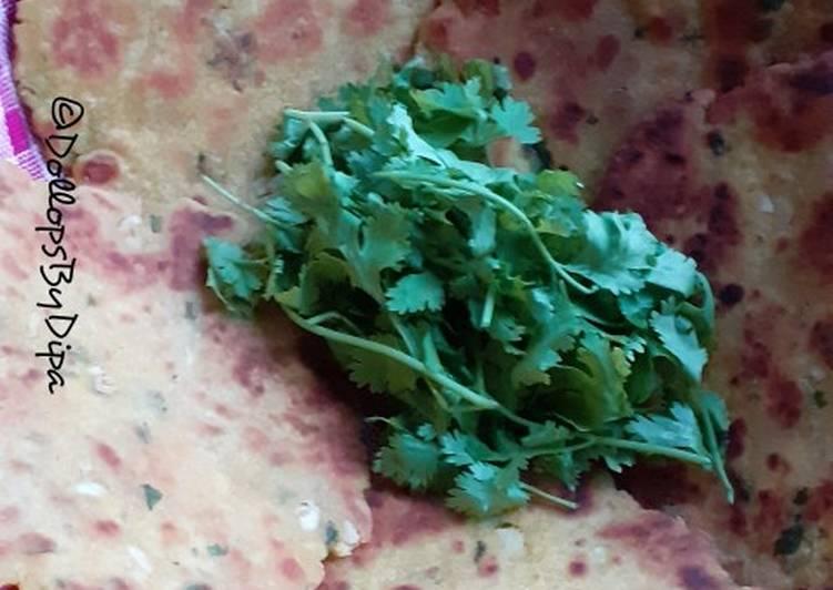 Recipe of Award-winning Lahsooni makki ki roti