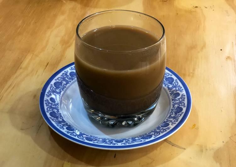 Wedang jahe kopi susu