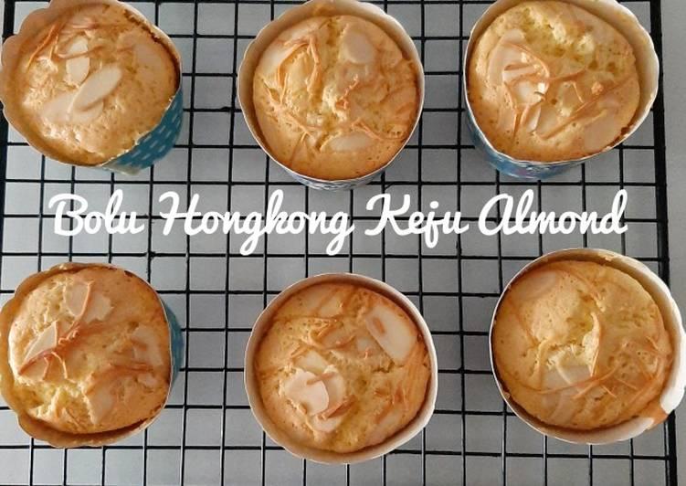 Bolu Hongkong Keju Almond