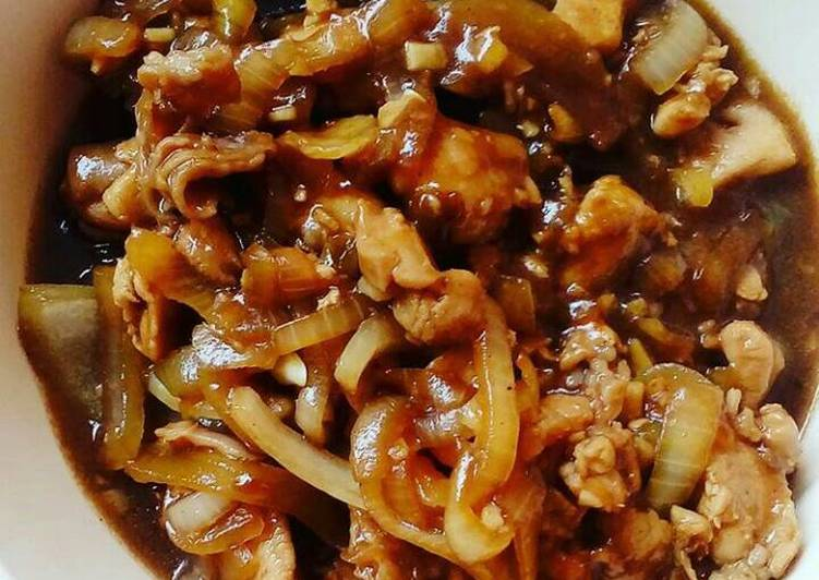 Cara Membuat Ayam Teriyaki (Resep dari Anidiasarah), Lezat
