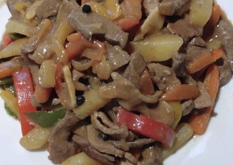 Pork and Liver Stew