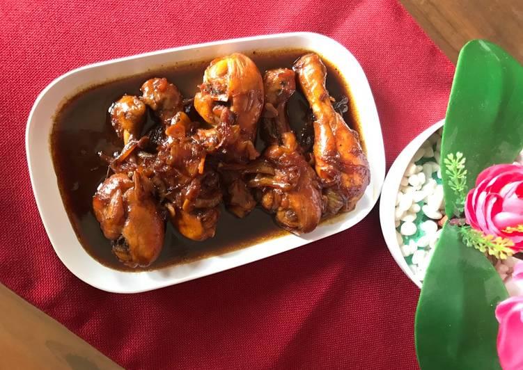 resep masak ayam kecap berkuah  joglo Resepi Rawon Telur Enak dan Mudah