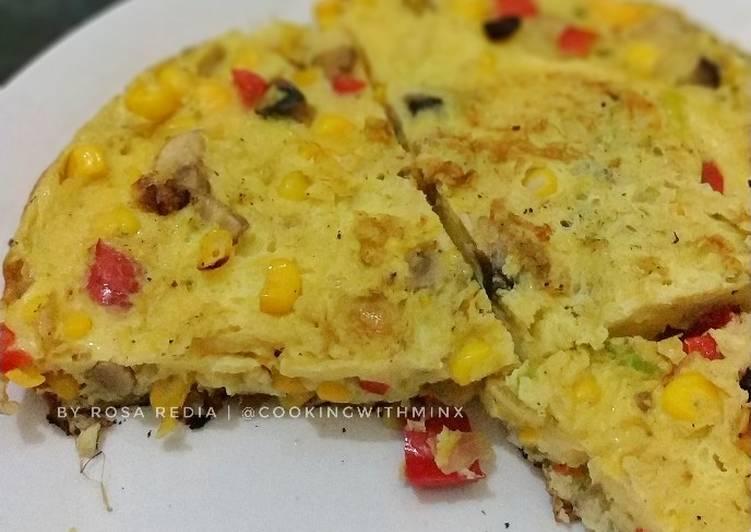 Resep Vegs Frittata (Omelette ala Italy) Favorit