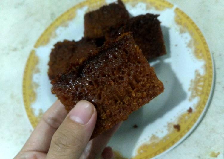 2.1#2 Caramel Cake a.k.a Sarang Semut - cookandrecipe.com