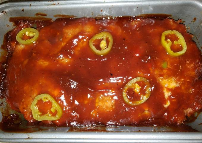 BBQ Meatloaf with a Kick!