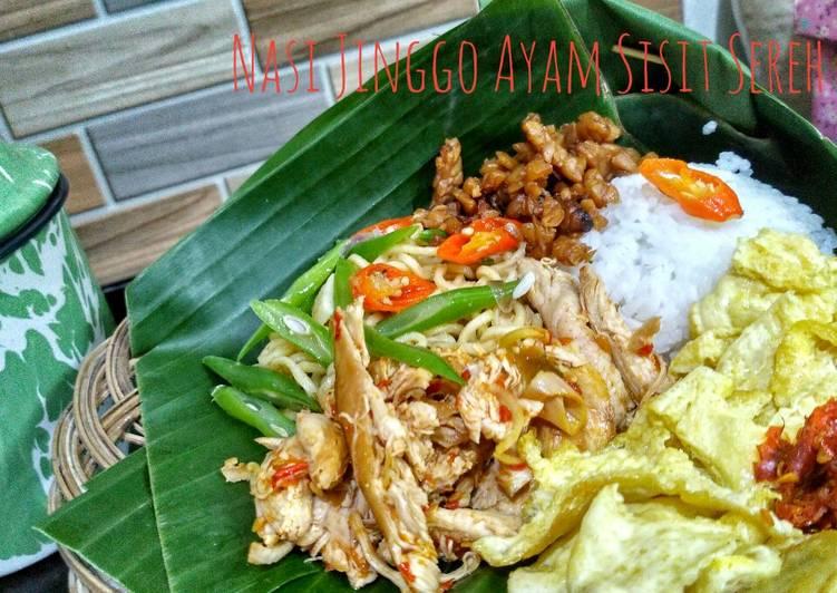 Nasi Jinggo Ayam Sisit Wangi Sereh